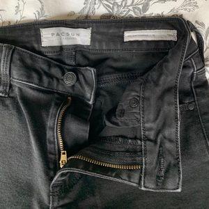 Pacsun Mid-rise Black Jeans